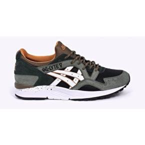 Asics Gel-Lyte V Winter Trail Shoes - Black/White/Olive