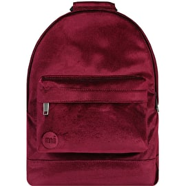 Mi-Pac Mini Velvet Backpack - Garnet
