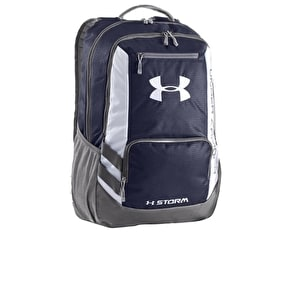 Under Armour Hustle Backpack - Midnight Navy/Graphite
