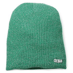 Neff Daily Sparkle Beanie - Emerald Green