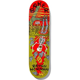 Baker Ways To Die - Herman Skateboard Deck 8