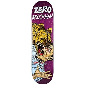 Zero Skateboard Deck - Animal Attack Brockman 8.25
