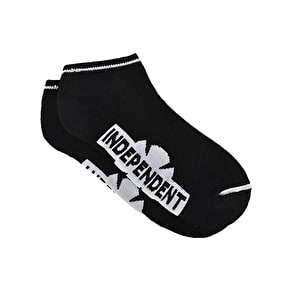 Independent Original Bar Cross Low Socks - Black