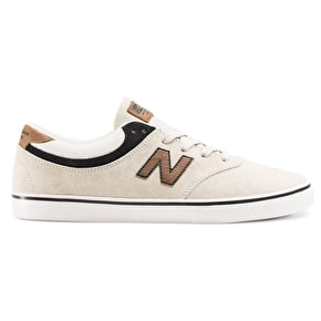 New Balance Quincey 254 Shoes - Stone/Black/Tan