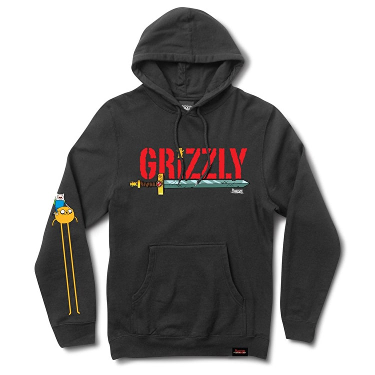 Grizzly Adventure Time - Grizzly Time Hoodie - Black