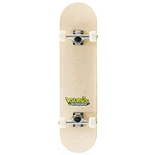 Voltage Graffiti Logo Complete Skateboard - Natural 7.5