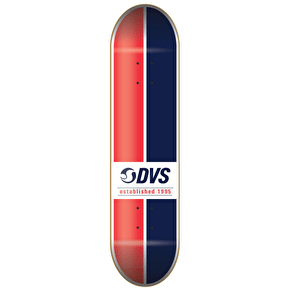 DVS Skateboard Deck - Ace - Red/Blue - 8.25
