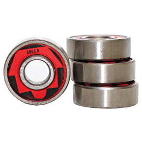 Skatehut ABEC 9 Bearings (Pack of 4)