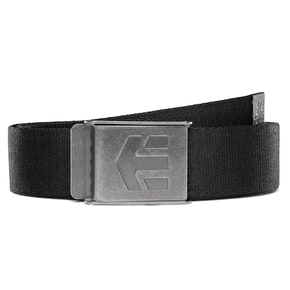 Etnies Staplez Belt - Black/Grey