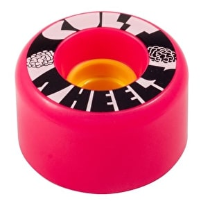 Cult Ist 63mm 80A Longboard Wheels - Pink