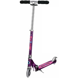 Micro Sprite Complete Folding Scooter - Purple Stripe