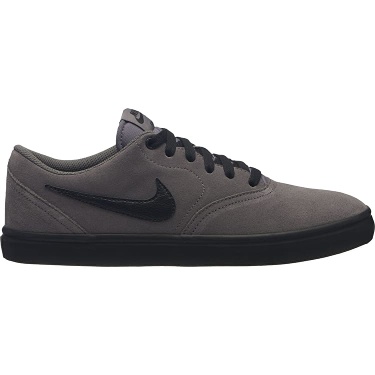 Nike SB Check Solarsoft Skate Shoes - Gunsmoke/Black/White