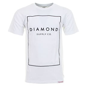 Diamond Boxed In T-Shirt - White