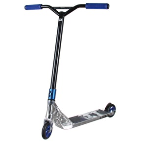 AO Stealth 3 LE I Complete Scooter - Chrome/Blue