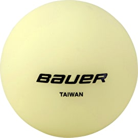 Bauer Hockey Ball - Glow In The Dark