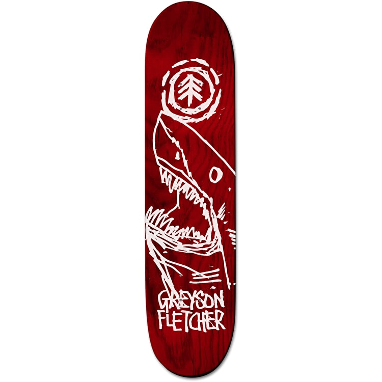 Element FOS Greyson Shark Skateboard Deck - 8.125""