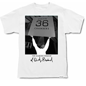 Diamond x ODB Chambers Tee - White