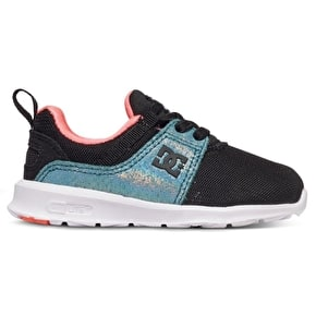 DC Heathrow Toddler Skate Shoes - Black/Multi
