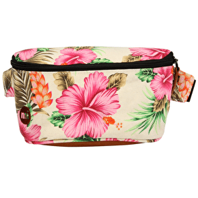 Mi-Pac Bumbag - Tropical Hibiscus Natural