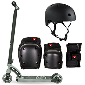 MGP VX8 Shredder Pro Stunt Scooter Bundle