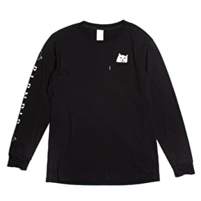 RIPNDIP Lord Nermal Longsleeve T-Shirt - Black