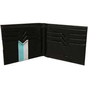 Diamond Bi-Fold Wallet - Black