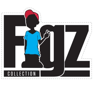 FIGZ Collection Figz Logo Sticker - White