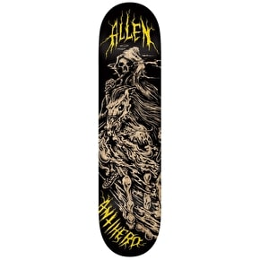 Anti Hero Skateboard Deck - Horseman Allen Black 8.12
