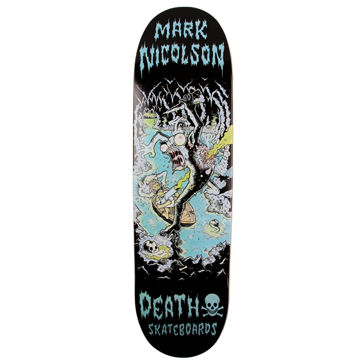 Death Polluted Cave Skateboard Deck - Nicolson 8.75""