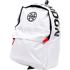 Zukie Safety First Backpack - White