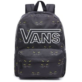Vans Realm Flying V Backpack - Black Cat