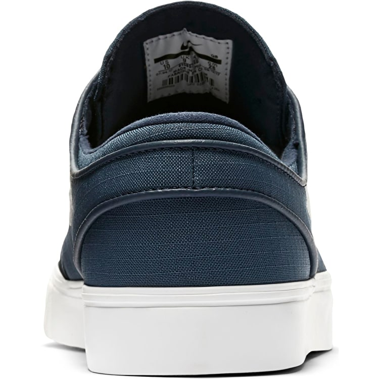 Nike SB Zoom Stefan Janoski Canvas Skate Shoes - Thunder Blue/Light Bone