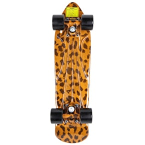 Shaun White Retro Dart Composite Skateboard - Leopard Gold/Black