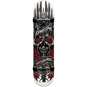 Darkstar Sword Premium Complete Skateboard - Red 7.75
