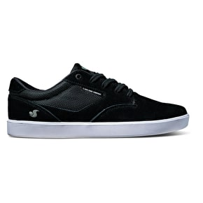 DVS Pressure SC Skate Shoes - Black Suede/Mesh Chico
