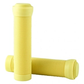 Blazer Pro Flangeless Grips with End Plugs - Neon Yellow