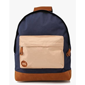 Mi-Pac Two Tone Backpack - Navy/Brown