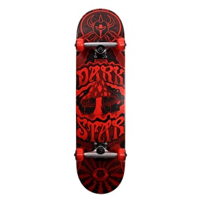 Darkstar Trippy First Push Complete Skateboard - Red 8