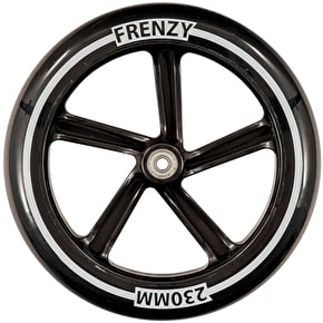 Frenzy 230mm Scooter Wheel w/Bearings - Black