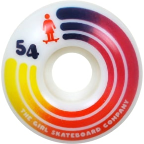 Girl United 98A Skateboard Wheels - 54mm