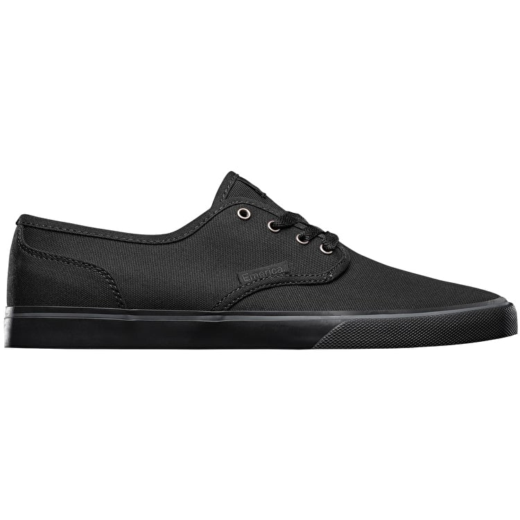 Emerica Wino Cruiser Skate Shoes - Black/Black