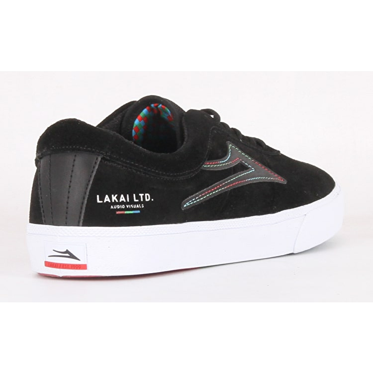 Lakai The Flare Sheffield Skate Shoes - Black Suede