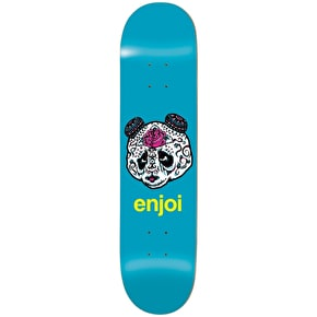 Enjoi Skateboard Deck - Quinceanera Panda R7 Blue 8.5