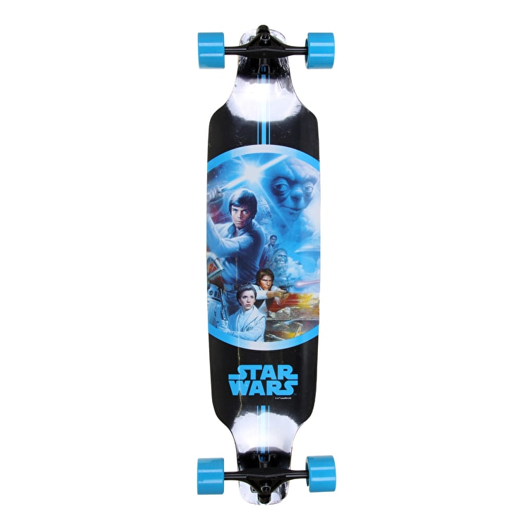 Star Wars Freeride Topmount Longboard - Luke