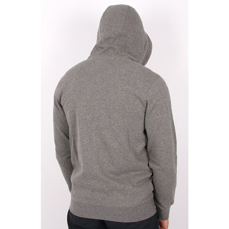 Fox Legacy Foxhead Zip Fleece Hoodie - Heather Graphite