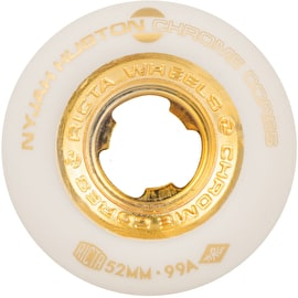 Ricta Huston Chrome Core 99a Skateboard Wheels - White 52mm
