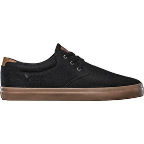 Globe Willow Skate Shoes - Black Hemp/Gum
