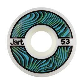 Jart Psycho 102a Skateboard Wheels - Green 53mm