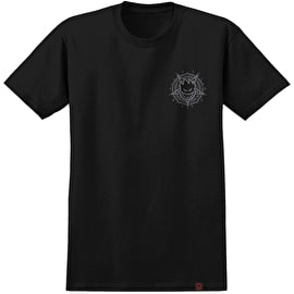 Spitfire Pentaburn Double T-Shirt - Black/Grey Print