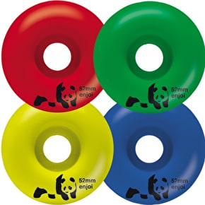 Enjoi Spectrum Skateboard Wheels - Multi 52mm